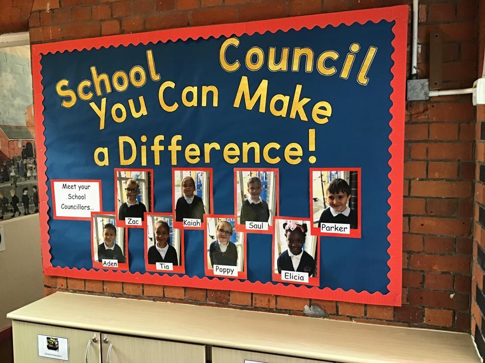 Our wonderful School Council 2020 - 2021