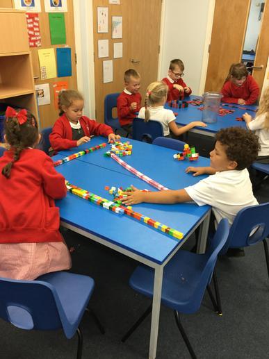 We enjoyed using the cubes!