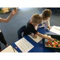 Choosing time- playing dice game
