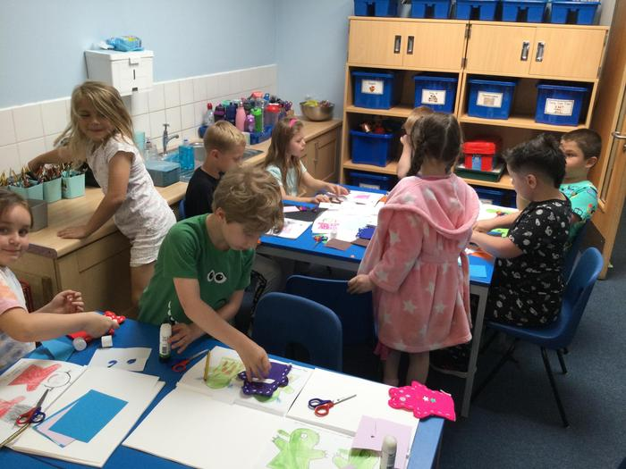 Creating our puppets