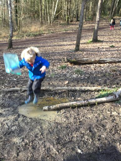 Wellies are essential!