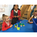 We enjoyed exploring the new toys during our choosing time.