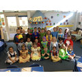 We dressed up as our favourite book character!