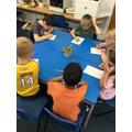 Writing Shape riddles