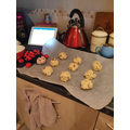 making Rock Cakes VE Day