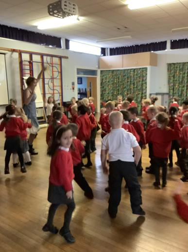 Learning space songs, music and dance!