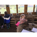 We had a great time in the mud kitchen during Forest School.