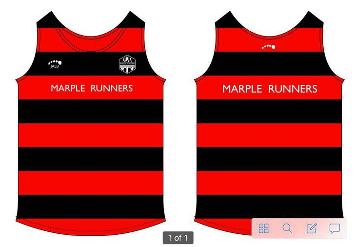 Marple Runners club vest