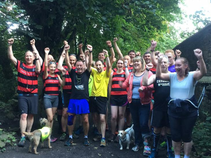 supporting Paul Muldoon 50 parkruns in 6 days