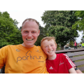 Matthew and James - Poole parkrun 13th May 2017