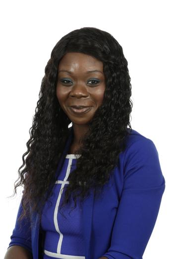 Mrs O. Goko, Year 1 teacher,  Phonics and PSHE Leader
