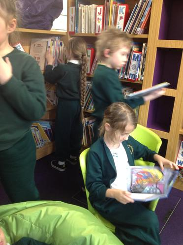 We carefully chose a book , it took a while !
