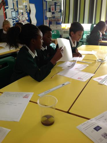 Scientists at work!