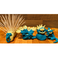 A playdough family! What can you make?