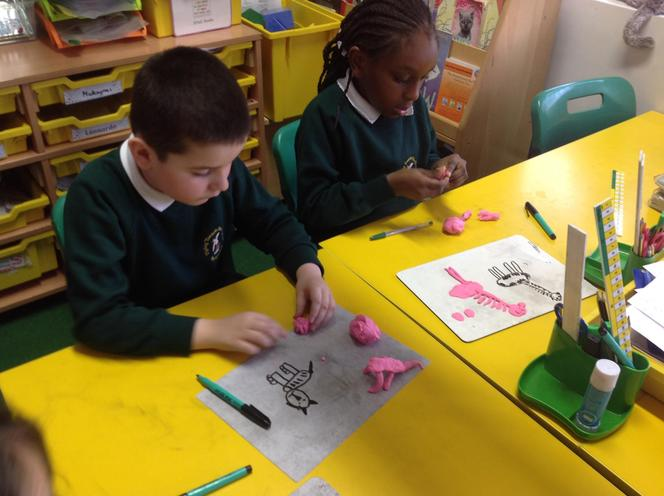 We created our favourite animals.