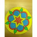 Jasmine's Rangoli pattern