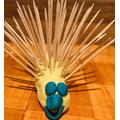 A playdough hedgehog!