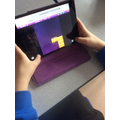 Revising fractions using Purple Mash.
