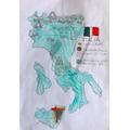 Oskar's (3G) learning on Italy