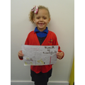 A project on Rosa Parks by Amelia- Year 1