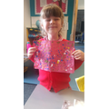 Zya's learning on Emily Kane Kngwarreye