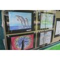 Beautiful artwork from children in Year 3-5