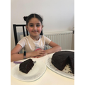 Parisa's delicious chocolate cake