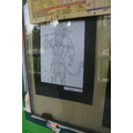 Lovely sketching of a Hindu God by a Year 6 child