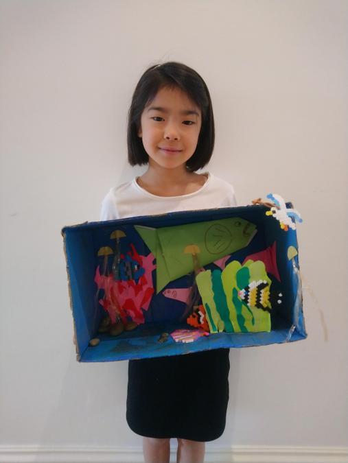 Aki's 'Under The Sea'  diorama