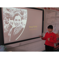 A project on Rosa Parks by Karam- Year 5