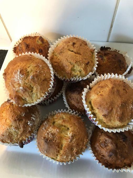 Scrumptious muffins Mrs Forrester