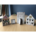 Houses inspired by the Ndebele people of Africa