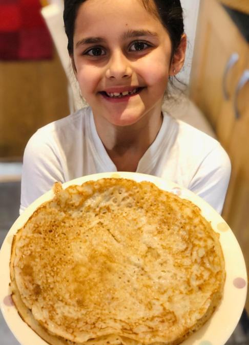 Mara's vegan pancakes