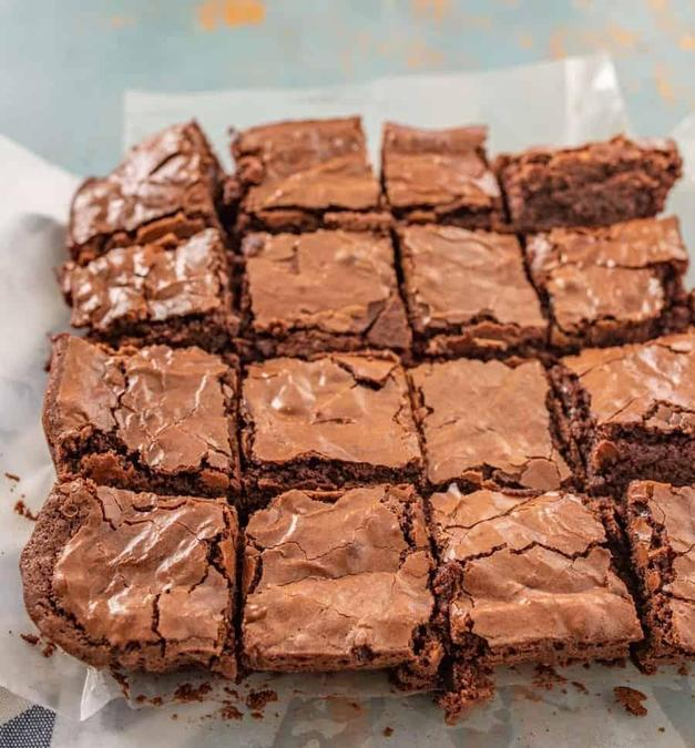 Delicious brownies Mrs Forrester