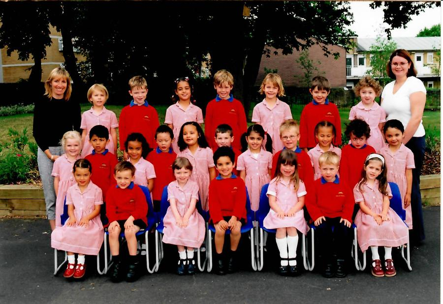 Mrs Anderson's Reception class