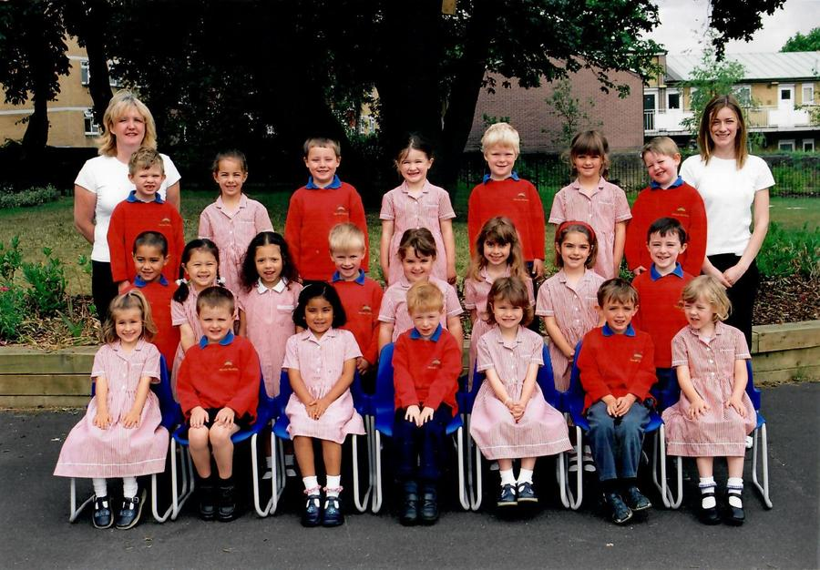 Miss Ahern's Reception class