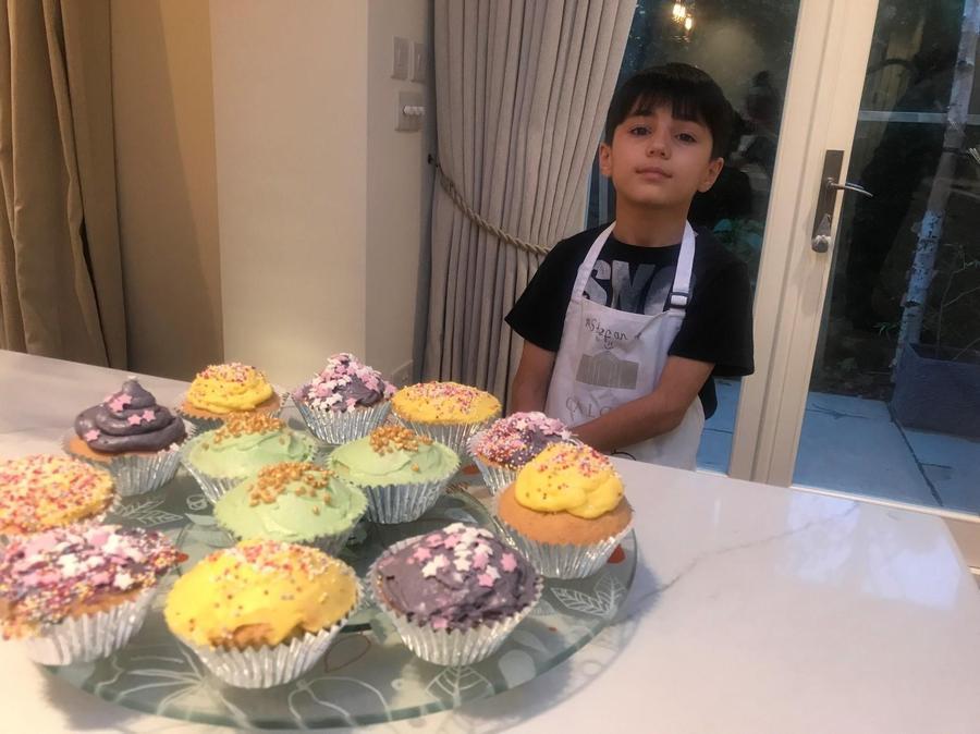 Stefan's superb cupcakes