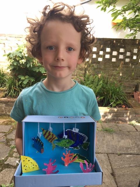 Rory's Under The Sea diorama