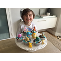 Leo and his perfect pokemon cakes