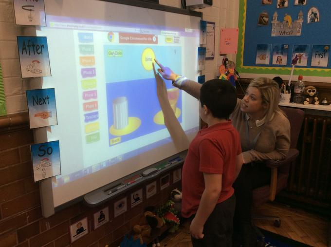 Using computing to support phonics learning
