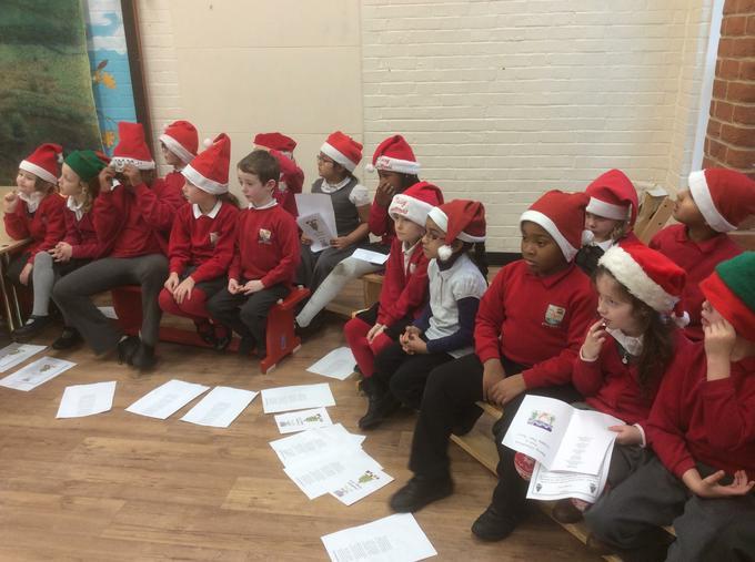 Sing Up children sang beautifully.