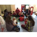 Group time in nursery.