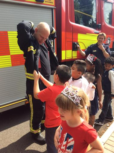 The fireman's name was Mr Fire!
