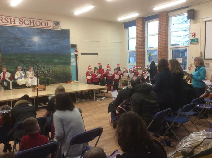 Local community joined us for singing Carols.