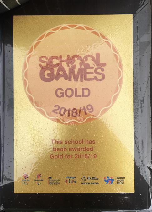 Gold Award 2018/2019