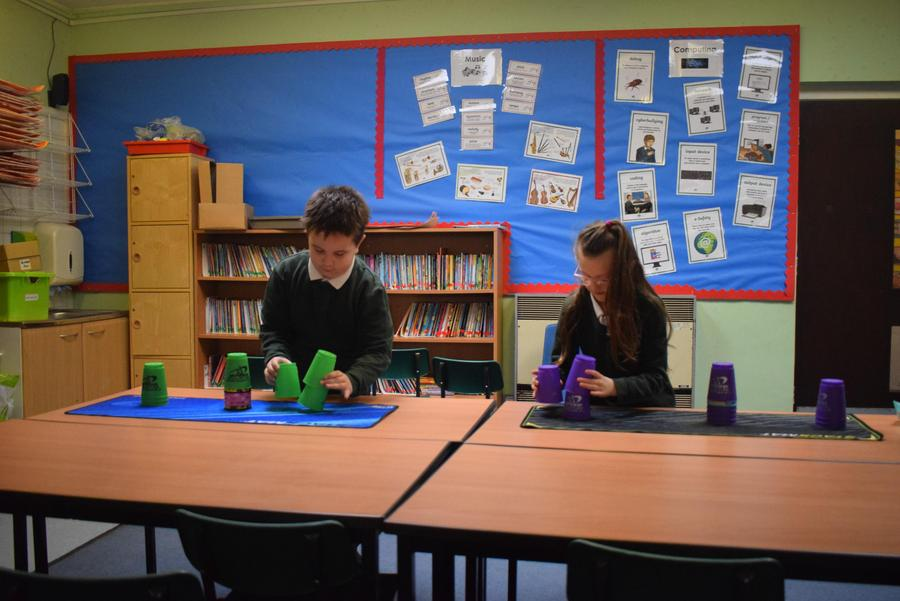 Speed Stacking - Intra class Competition