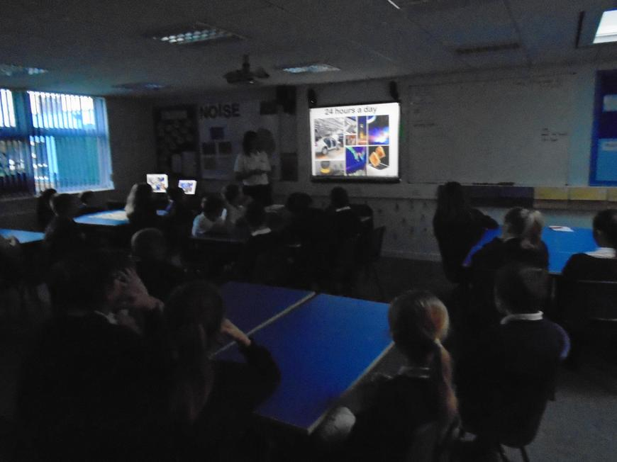 Our visitors told us all about Drax power station.