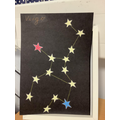 Research your star sign and create your own constellation.