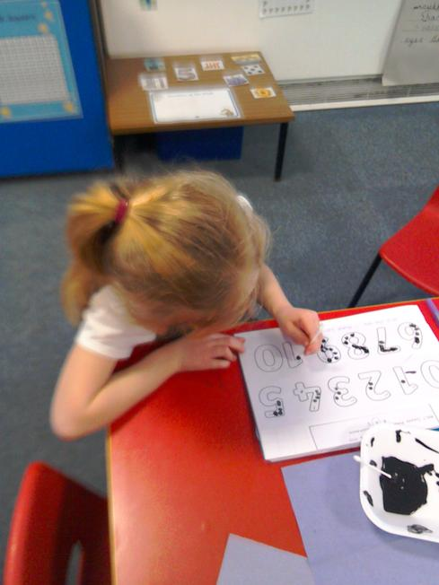 Recognising, counting and representing numbers