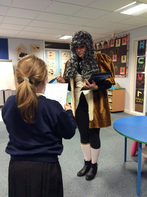 Samuel Pepys came to tell us he needs a new house.